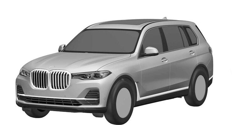 BMW X7 Patentamtbilder