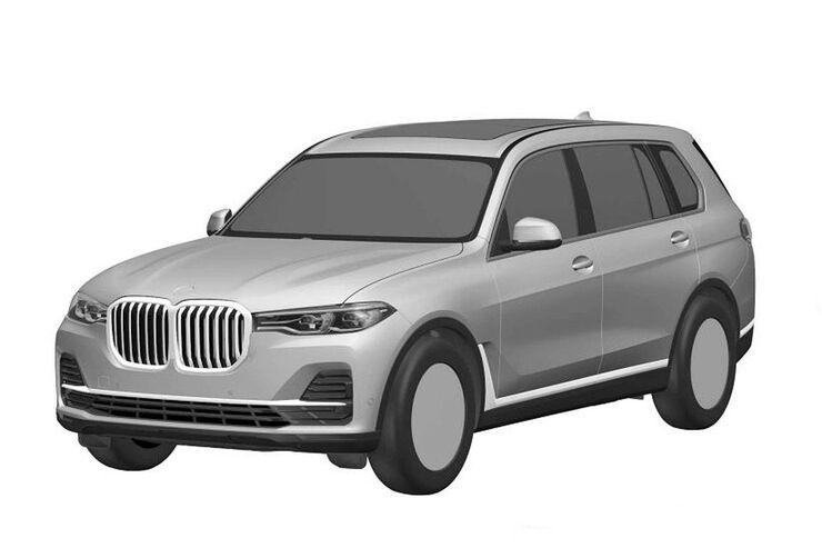 BMW X7 Patentamtbilder