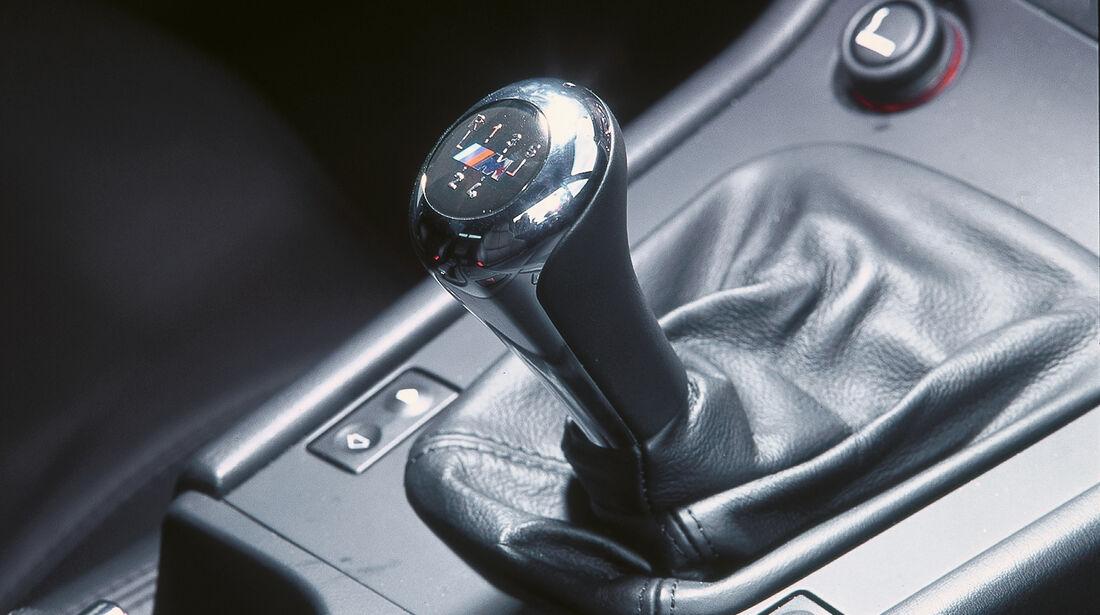 BMW Z3 3.0i Coupé, Schalthebel