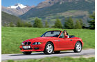 BMW Z3, Seitenansicht