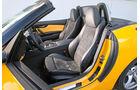 BMW Z4 35i, Innenraum, Vordersitze