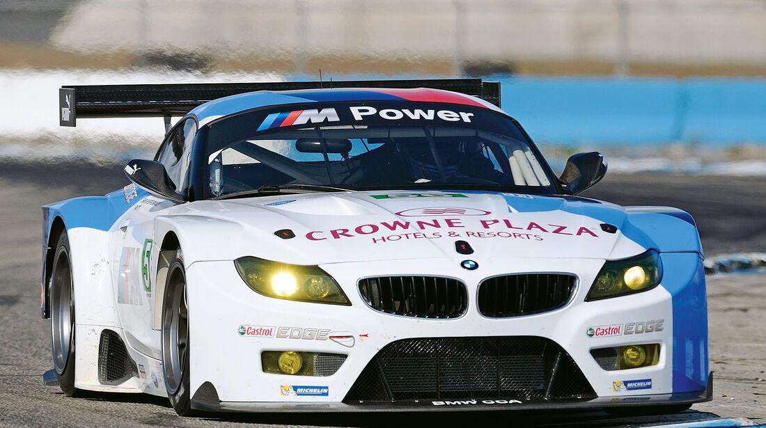 BMW Z4 GTE, Frontansicht