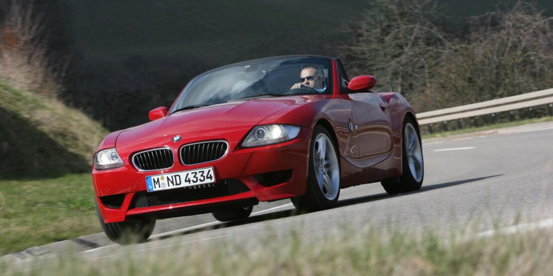 BMW Z4 M Roadster - Mercedes SLK 55 AMG und  BMW Z4 Roadster 3.0si - Mercedes SLK 350 10