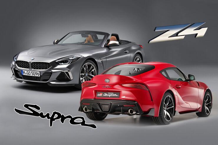BMW Z4 Toyota Supra Vergleich 2019
