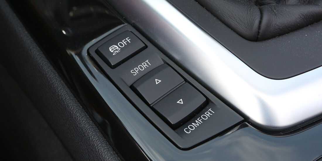 BMW Z4 s-Drive 35i, Bedienelemente