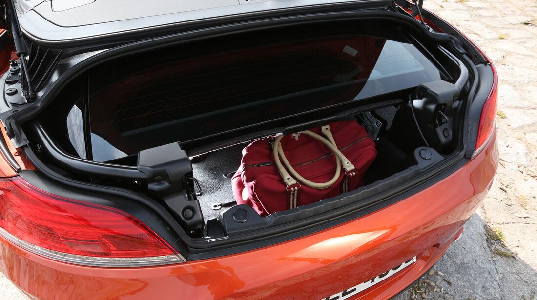 BMW Z4 s-Drive 35i, Kofferraum