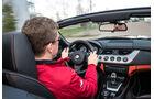 BMW Z4 s-Drive 35is, Cockpit, Fahrer