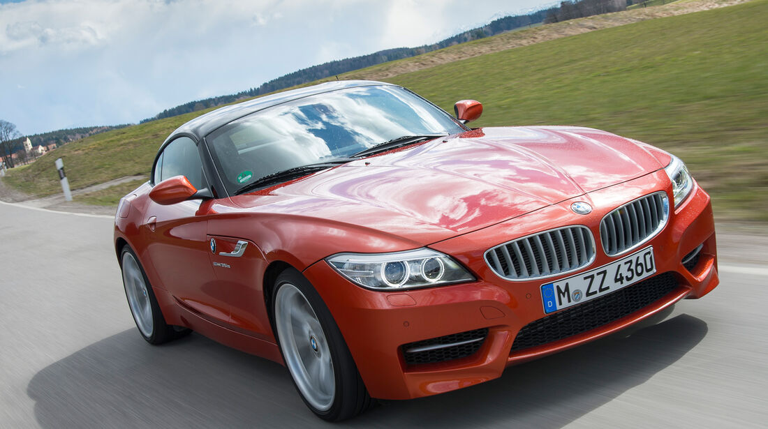 BMW Z4 s-Drive 35is, Frontansicht, Kühlergrill