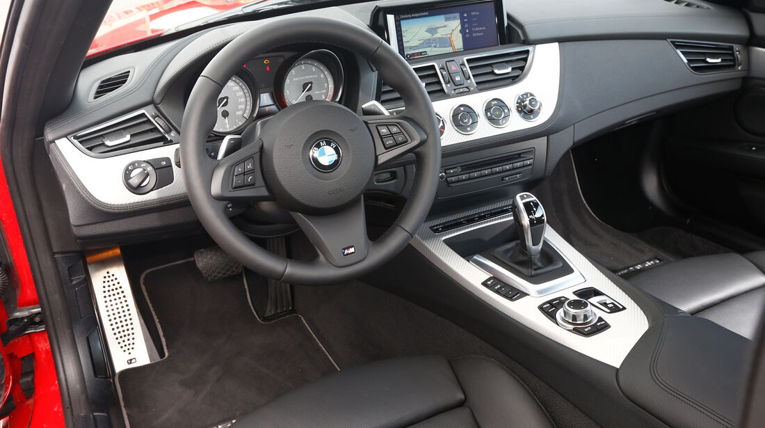 BMW Z4 sDRIVE 35is, Cockpit