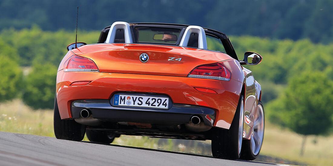 BMW Z4 sDrive 35i, Heckansicht