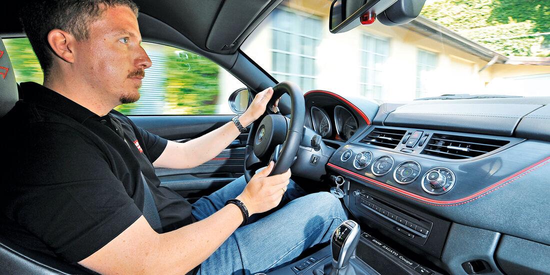 BMW Zagato Coupé, Cockpit