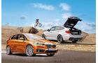 BMW Zweier Active Tourer, Dreier GT, Seitenansicht
