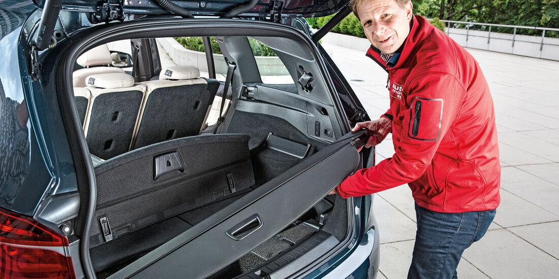 BMW Zweier Gran Tourer, Kofferraum