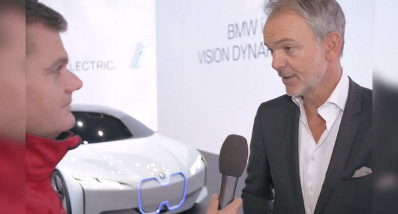 BMW i Vision Dynamics Video Teaser Foto