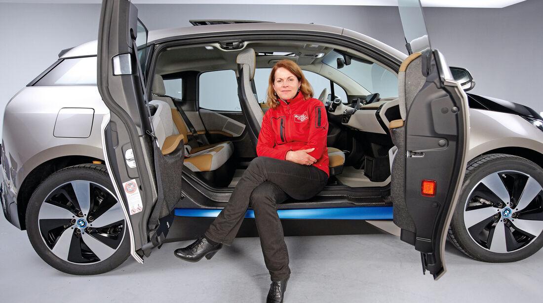 BMW i3, Birgit Priemer, Seitenansicht