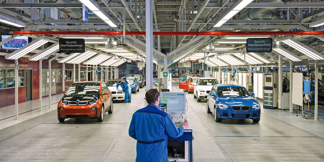BMW i3, Einser, Zweier, Endabnahme