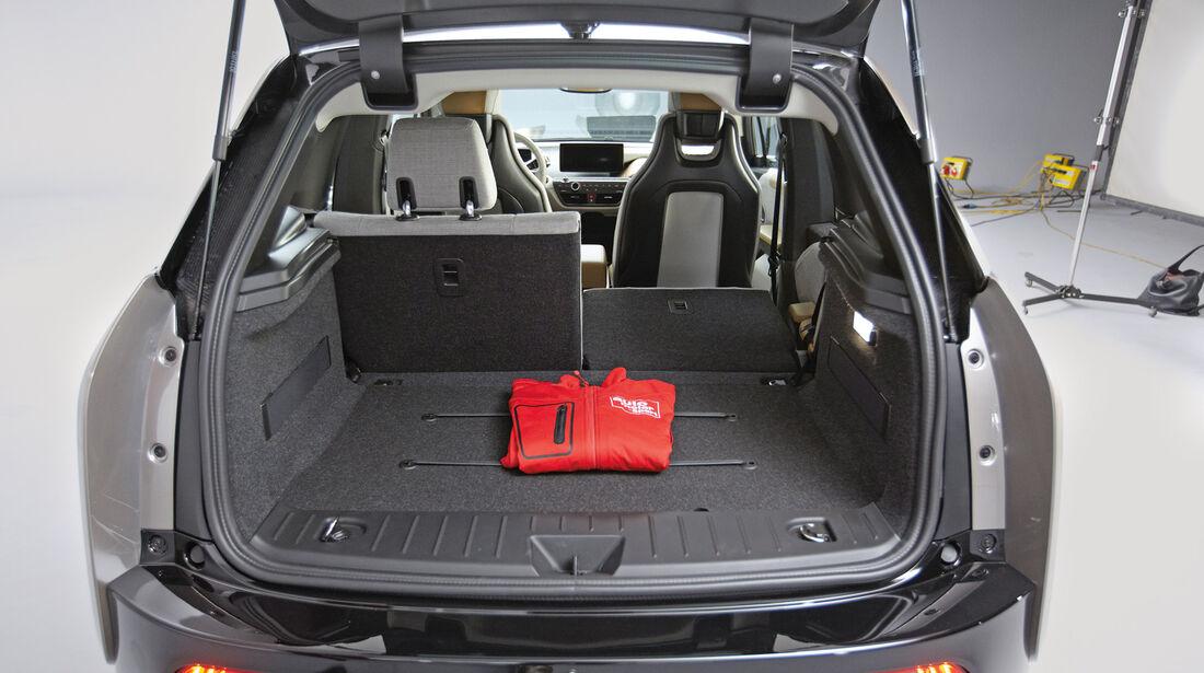 BMW i3, Kofferraum, Ladefläche