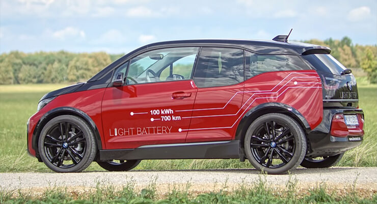 BMW i3 Lion Smart Batterie