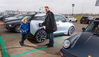 BMW i3, Parkplatz, Zwischenladen