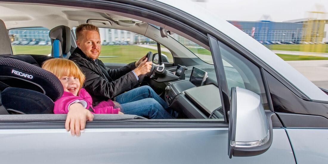 BMW i3, Seitenfenster, Fahrt