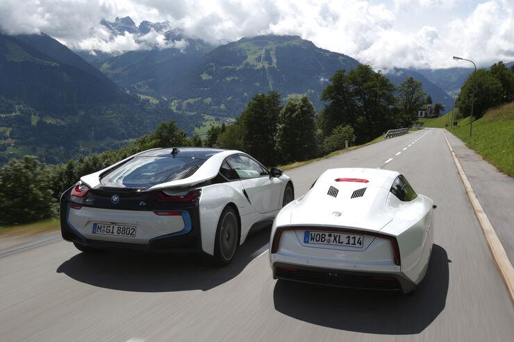 BMW i8 und VW XL1 im Vergleich: Sparsamer Sportler trifft sportlichen Sparer