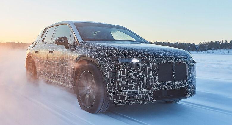 BMW iNext Wintertestfahrten