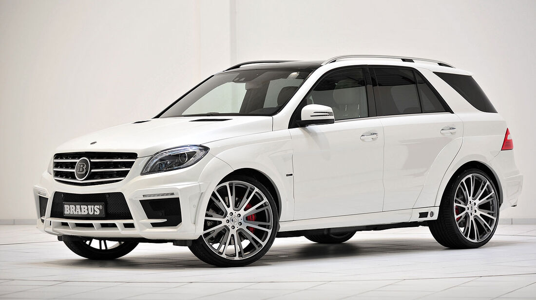BRABUS B63S - 700 WIDESTAR Mercedes ML 63 AMG
