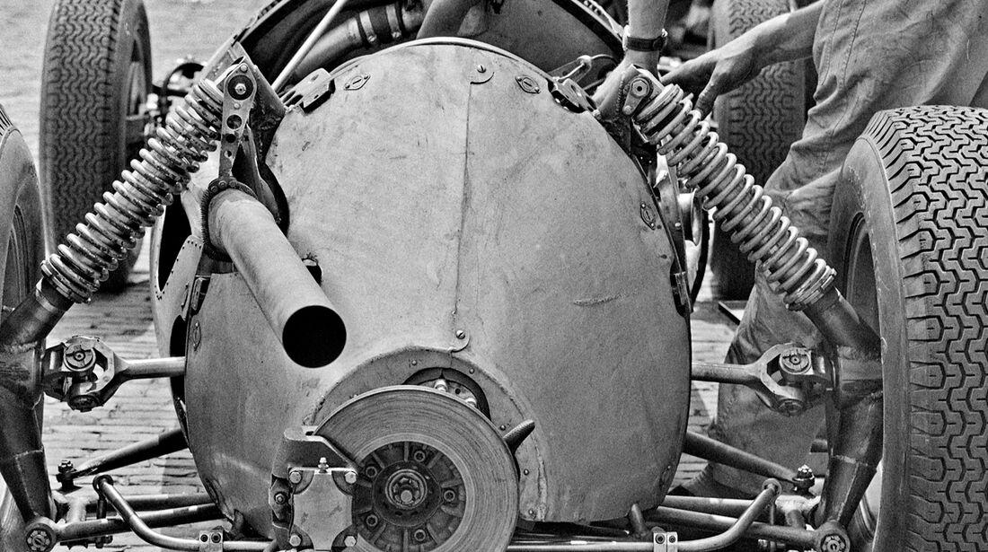BRM P48 - Verrückte Formel 1-Ideen