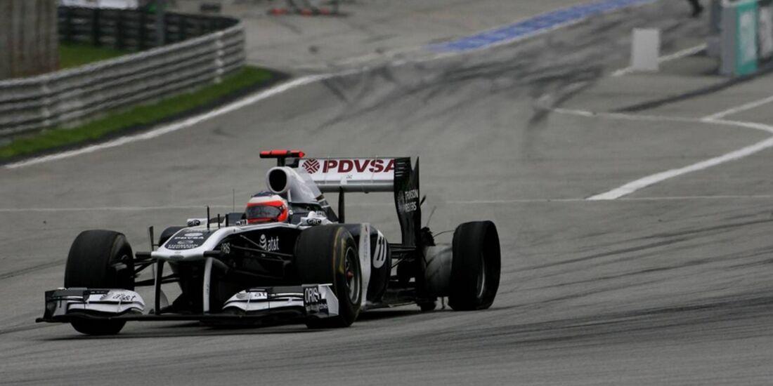 Barrichello GP Malaysia 2011 Formel 1