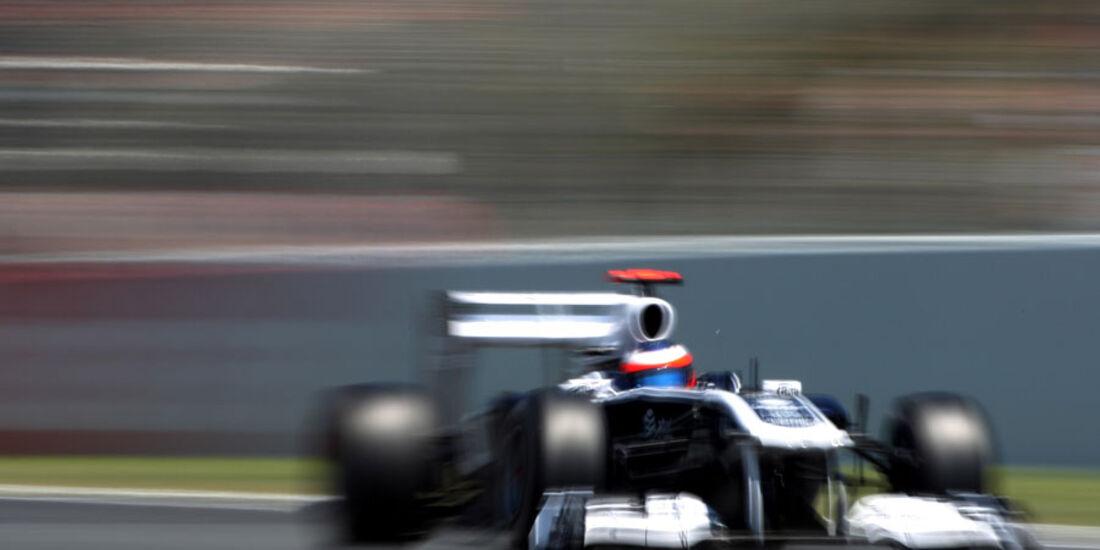 Barrichello GP Spanien 2011