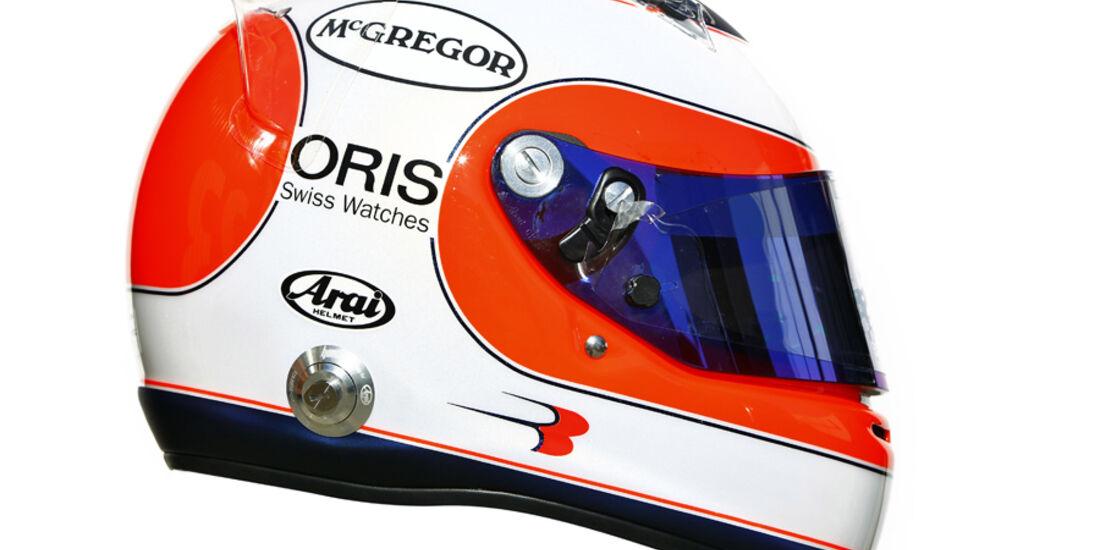 Barrichello Helm 2011