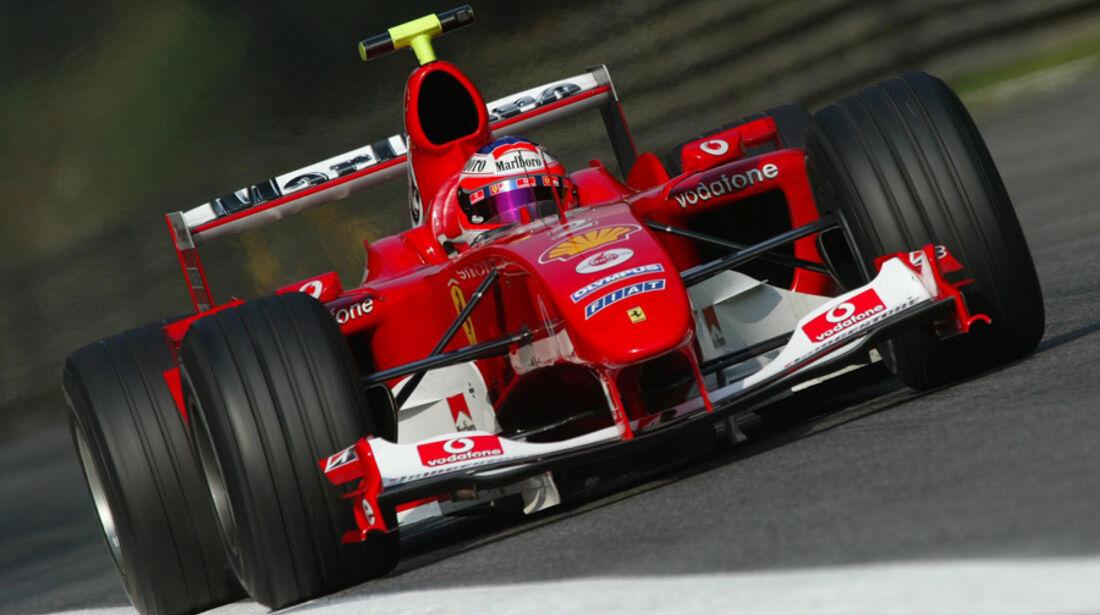 Barrichello Monza 2004