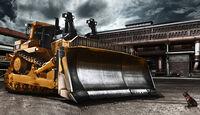 Baumaschinen-Kalender, Heavy Equipment-Kalender 2011, Caterpillar D11T Planierraupe