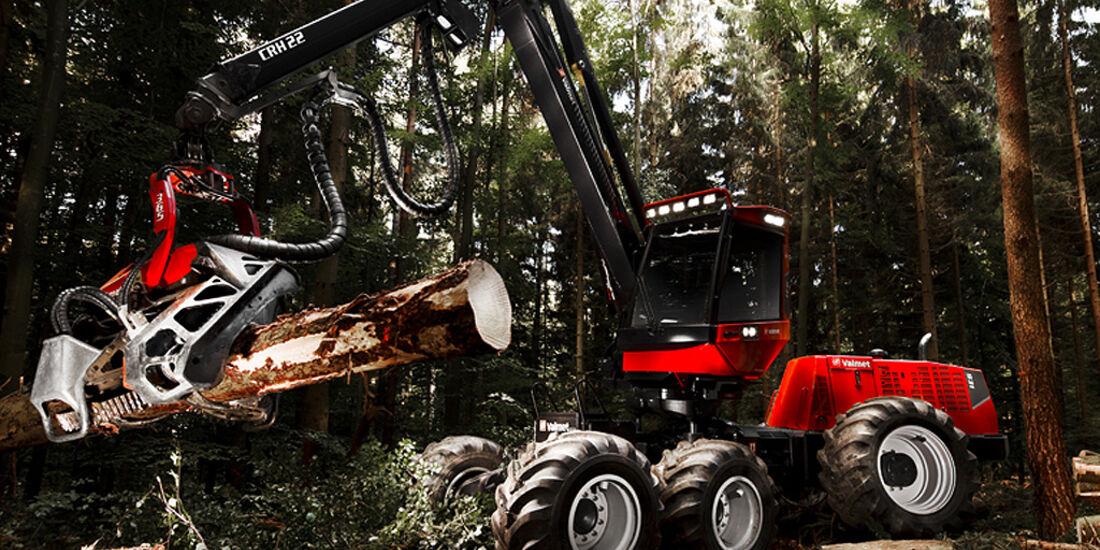 Baumaschinen-Kalender, Heavy Equipment-Kalender 2011, Valmet 931 Harvester