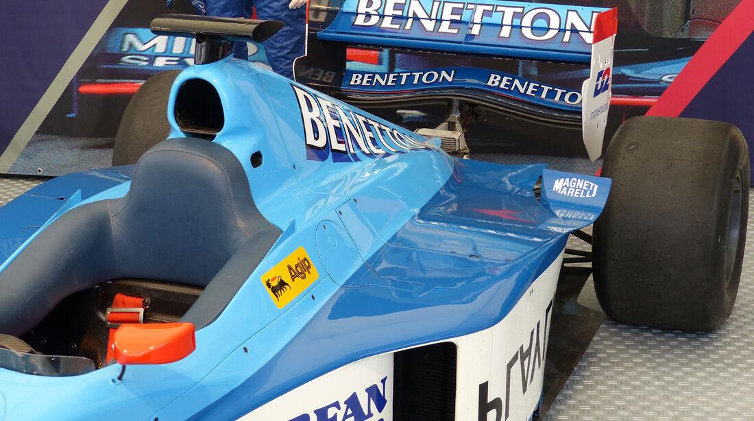 Benetton B198 - GP Österreich 2014 - Legenden