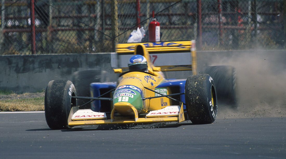 Benetton Ford Schumacher 1992