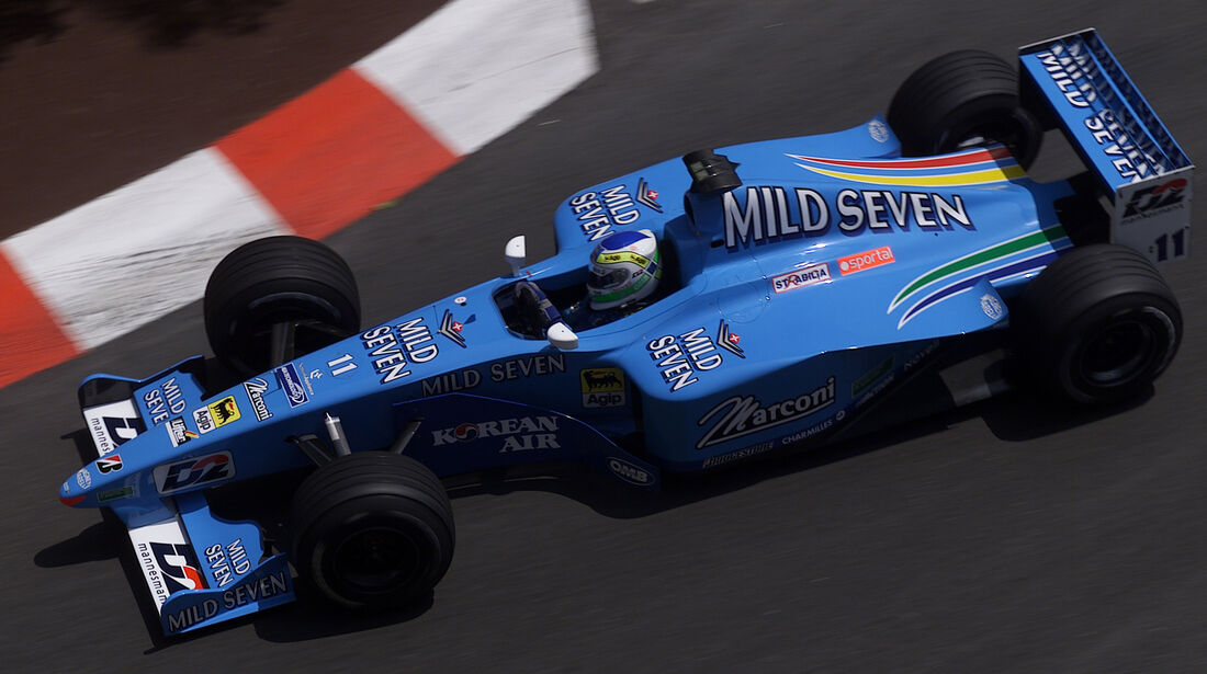 Benetton-Playlife - GP Monaco - 2000 - F1
