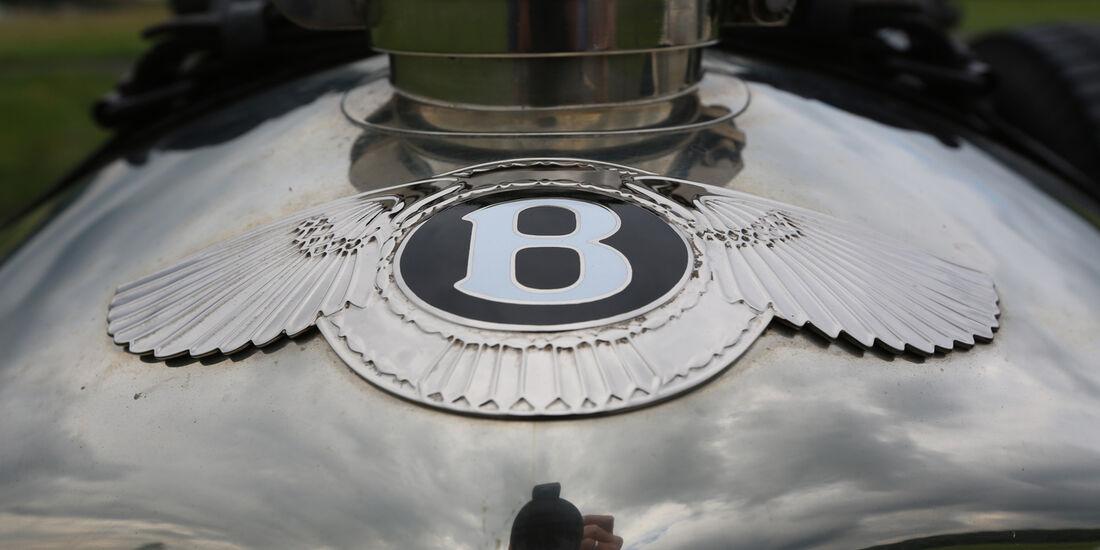 Bentley 4,5 Litre Blower, Emblem