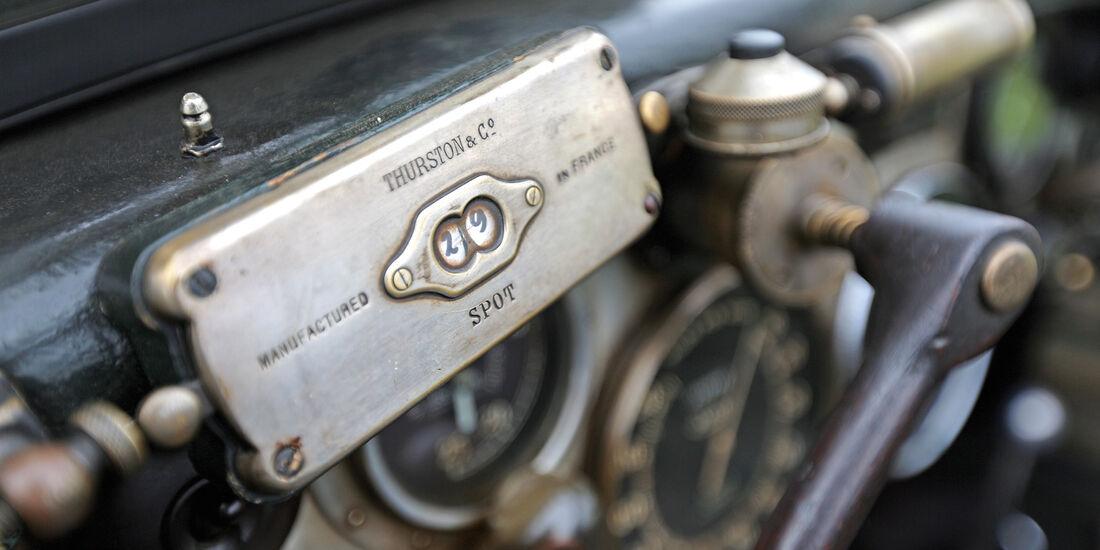 Bentley 4,5 Litre Blower, Plakette