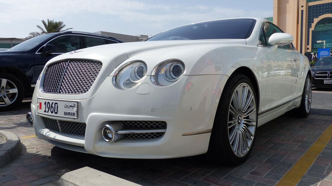 Bentley Continental - Carspotting Bahrain 2014