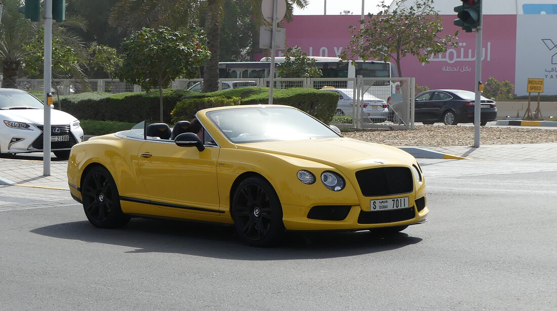 Bentley Continental GT - Carspotting - GP Abu Dhabi 2018