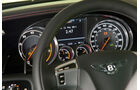 Bentley Continental GT, Detail, Lenkrad, Tacho