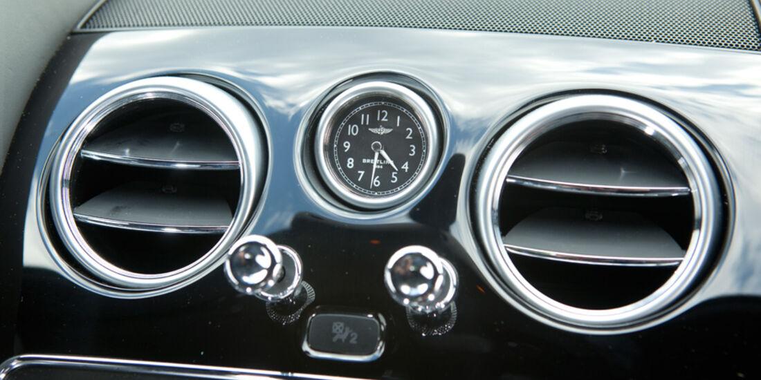 Bentley Continental GT, Detail, Lüftung, Klappen