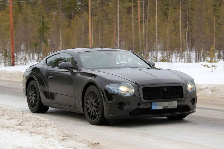 Bentley Continental GT Erlkönig