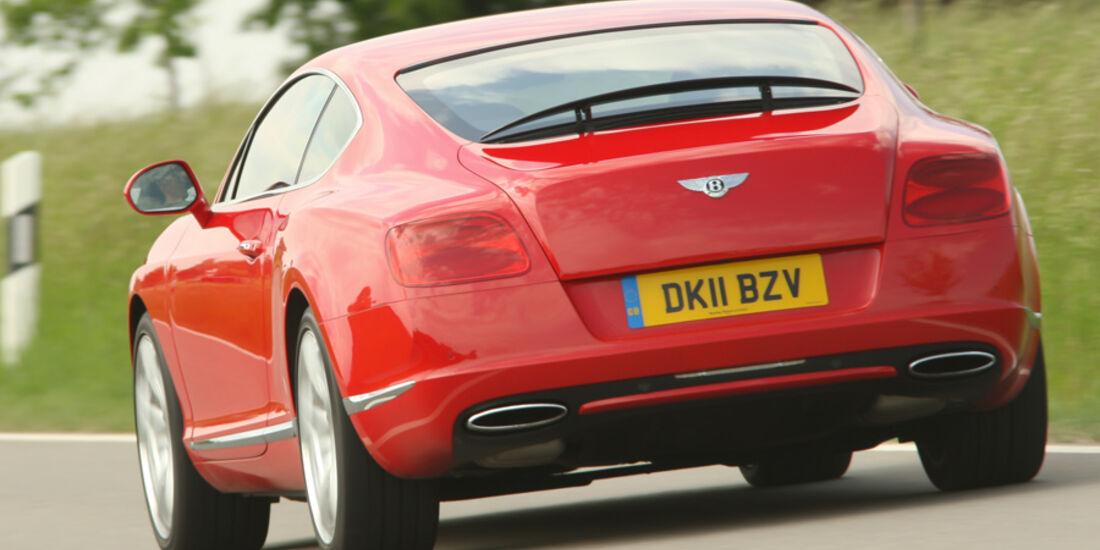 Bentley Continental GT, Heck, Rückansicht, Heckspoiler