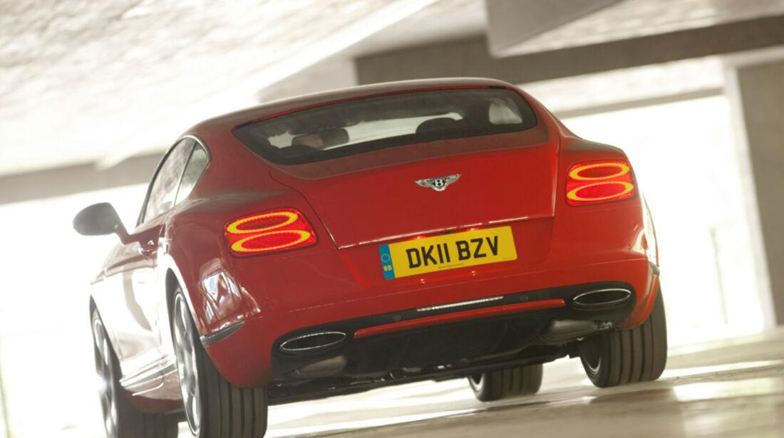 Bentley Continental GT, Heck, Rückansicht