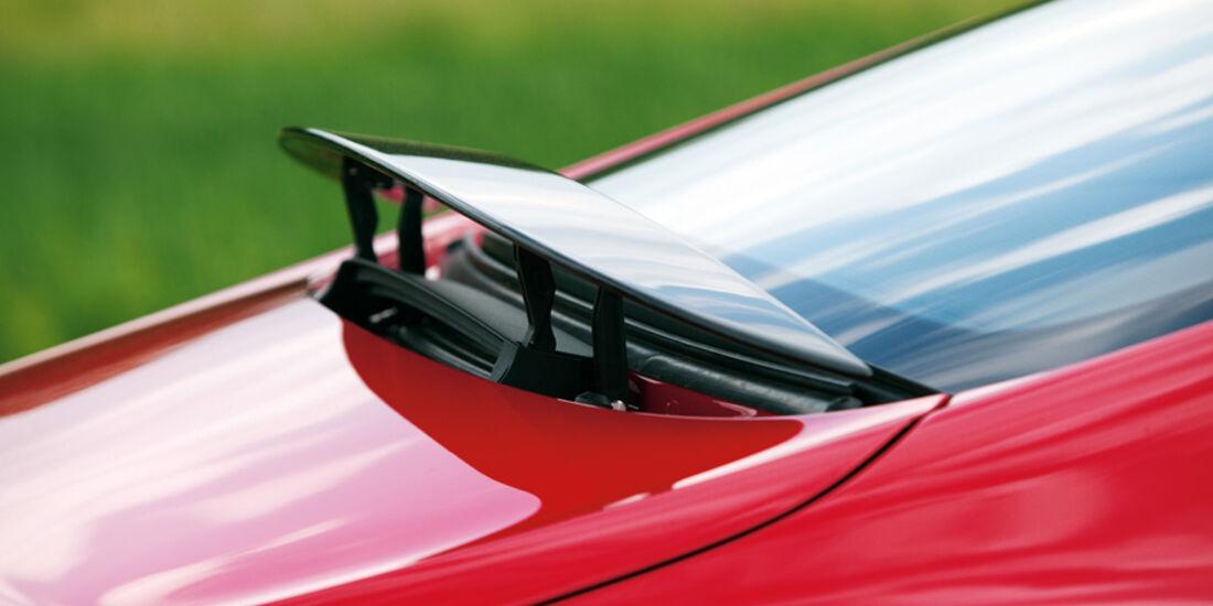 Bentley Continental GT, Heckspoiler, Detail