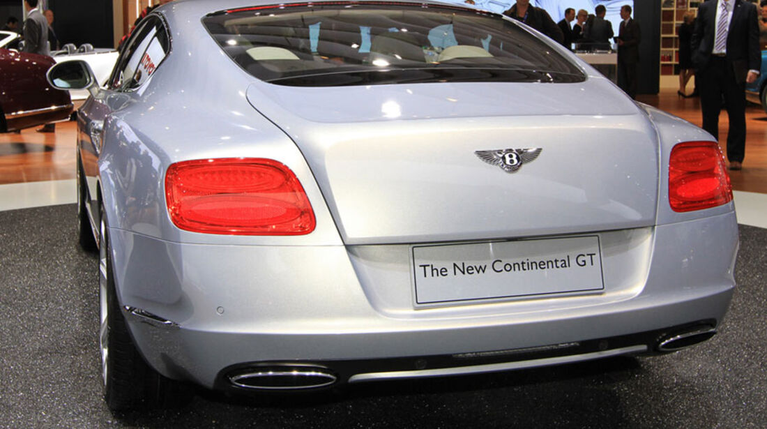 Bentley Continental GT Paris 2010
