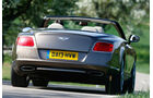 Bentley Continental GT Speed W12 Convertible, Heckansicht