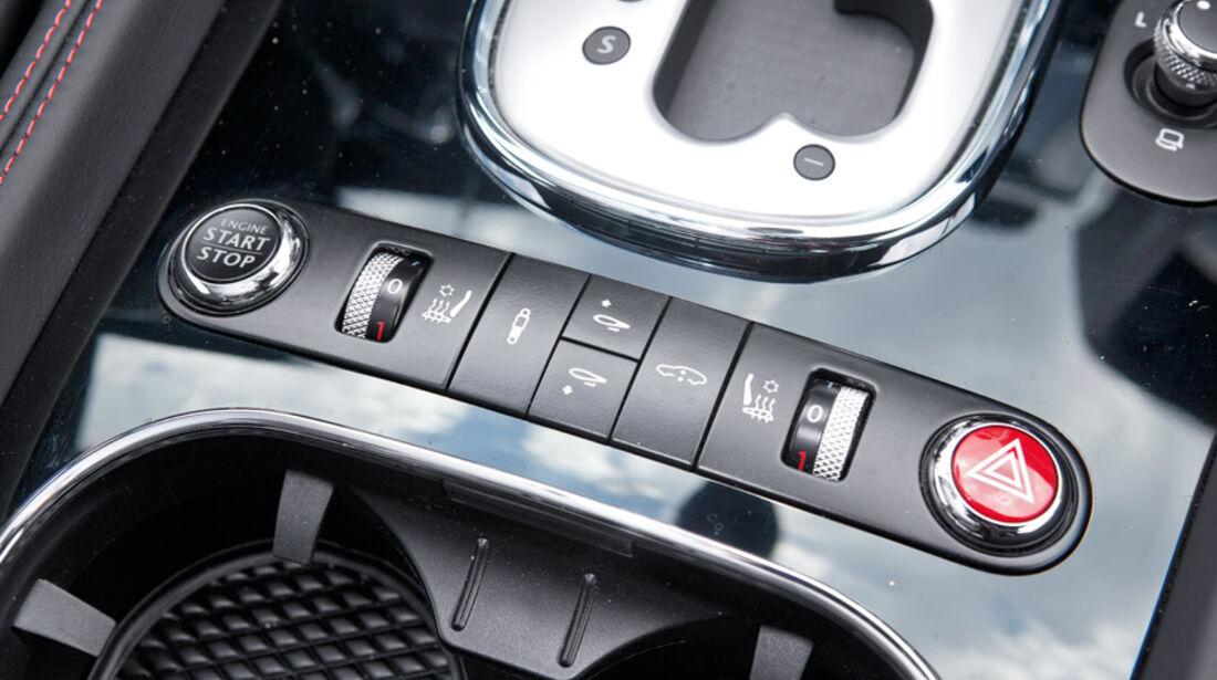 Bentley Continental GT, Steuerung, Konsole, Detail